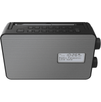 Sistem radio RF-D30BT rezistent la stropire si facil de utilizat Panasonic
