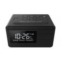 Aparat de radio FM cu ceas negru RC-D8EG-K DAB+ FM Panasonic