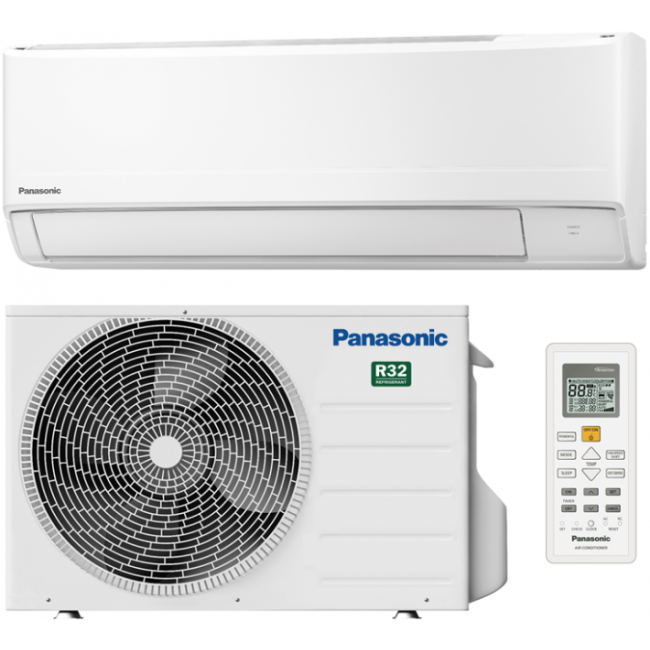 Aparat aer conditionat Inverter, 12000BTU, Clasa A++, R32 - KIT-FZ35WKE Panasonic