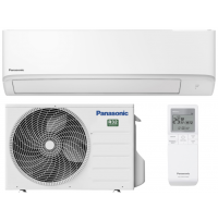 Aparat aer conditionat Inverter, 9000BTU, Clasa A++, R32 - KIT-TZ25WKE Panasonic, Wi-Fi integrat