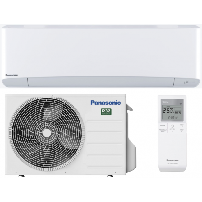 Aparat aer conditionat Panasonic Etherea Inverter+, Clasa A+++, R32, KIT-Z35VKE, 12000BTU, alb mat, KIT WI-FI INTEGRAT