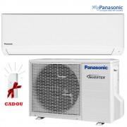 Aparat aer  conditionat Panasonic - KIT-TE35TKE - Inverter, 12000BTU, Clasa A++, R410A, + CADOU intefata Wi-Fi