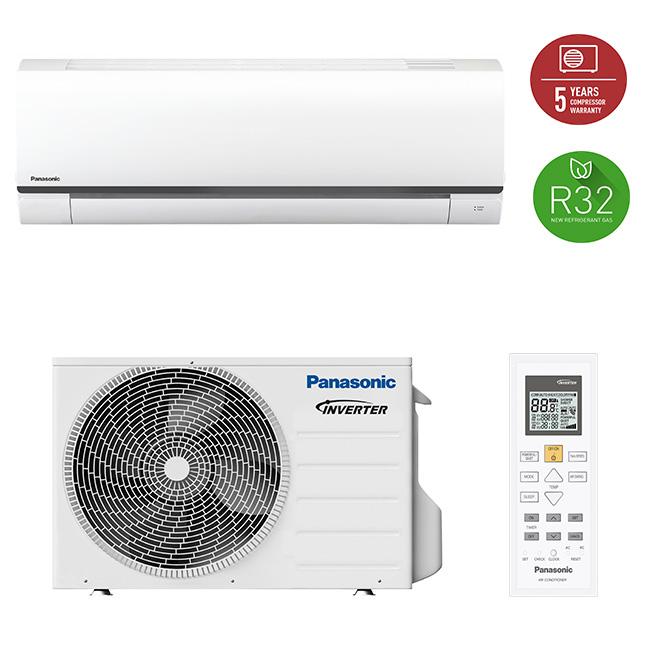 Aparat aer conditionat Inverter, 21000BTU, Clasa A++, R32 - KIT-FZ60WKE Panasonic