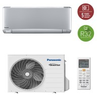 Aparat aer conditionat Panasonic KIT-XZ25TKE, A+++, 9000BTU, R32, Argintiu