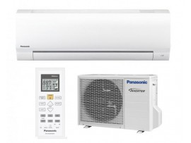 Aparat aer  conditionat Inverter,Clasa A++, R410a - KIT-KE25TKE Panasonic 9000BTU, alb