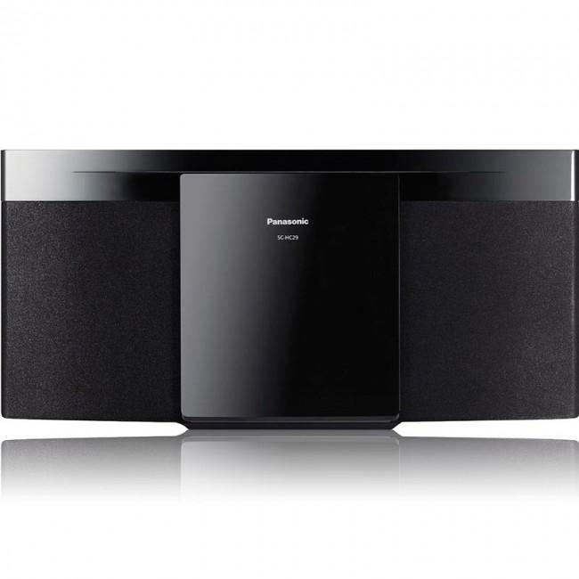 Microsistem  SC-HC29EC-K, 20W FM, USB, alb,  Panasonic Resigilat