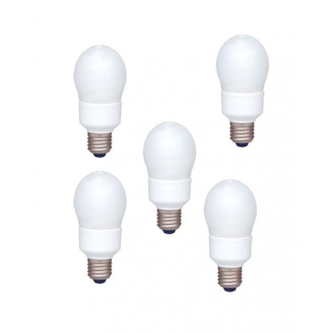 Bec economic, putere lampa 13W, echivalent pentru incandescenta 55W, EFA13E672V-pack5, Panasonic