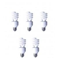 Pachet 5 becuri economice, putere lampa 19W, echivalent pentru incandescenta 90W, EFD19E65HD3E, Panasonic