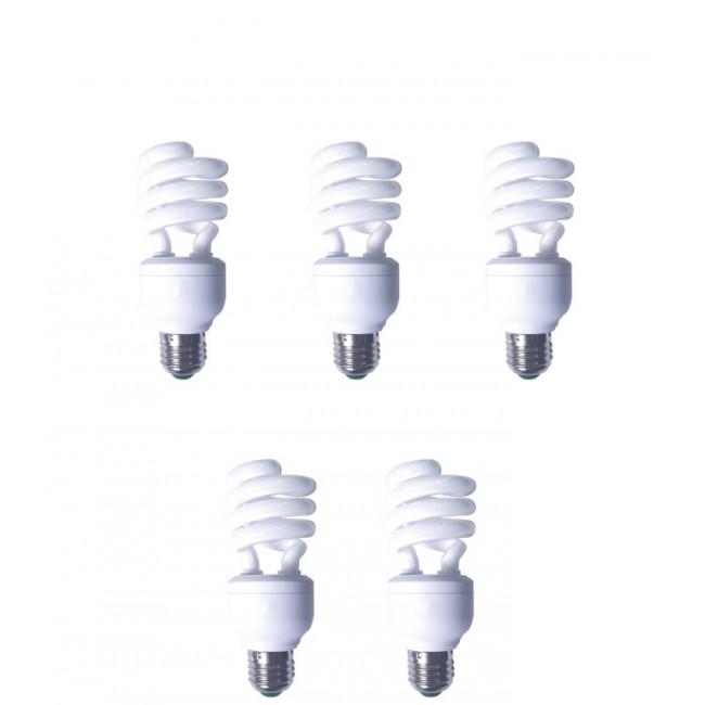 EFD19E65HD3E-5 Bec economic, putere lampa 19W, echivalent pentru incandescenta 90W, pachet 5 becuri Panasonic