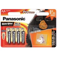 BATERIE Panasonic LR6PPG/8BW 4+4F, 1.5V, 8 buc + breloc cadou