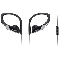 Casti sport in-ear cu microfon PANASONIC RP-HS35ME-K, negru