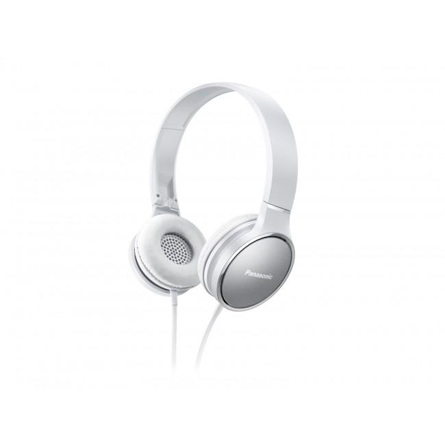 Casti on-ear cu microfon PANASONIC RP-HF500ME-W,  compatibile cu telefoane mobile
