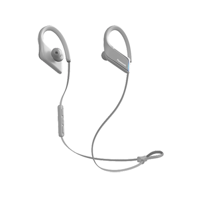 Casti in-ear cu microfon PANASONIC RP-BTS55E-H, wireless,gri