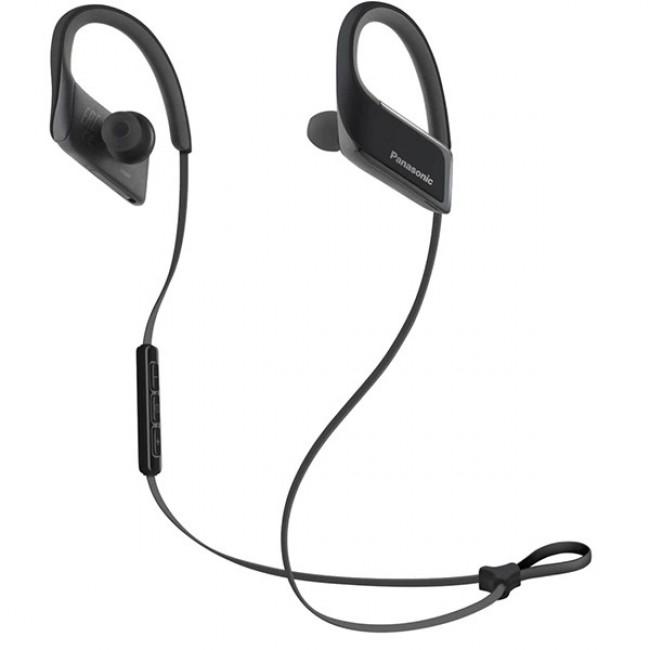 Casti Bluetooth pentru activiati sportive RP-BTS30E-K, Panasonic , Negru