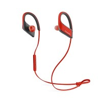 Casti in ear cu microfon Bluetooth PANASONIC RP BTS30E R, Red