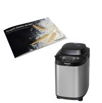 Masina de paine cu distribuitor automat pentru drojdie si seminte SD-ZB2512KXE, Panasonic---Culegere de retete CADOU