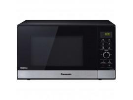 Cuptor cu microunde  NN-GD38HSSUG, 23 l, 1000 W, Digital, Grill, Accesoriu Steam+, Inverter, Inox/negru Panasonic
