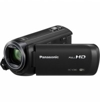 Camera video,Sistemul Hybrid O.I.S. Unghi larg de 28 mm, zoom optic 50x HC-V380EP-K, Panasonic