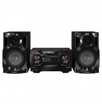 Sistem audio High Power SC-AKX200E-K, 1700W, Bluetooth, Resigilat negru Panasonic
