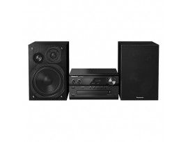 Microsistem audio High-Res Panasonic SC-PMX90EG-K, 120W, BT, USB-DAC, Lincs D-Amp, Difuzoare 3 cai, Optical-in, Negru  USB,  Panasonic