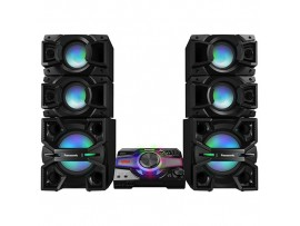 Sistem audio High Power SC-MAX7000E-K, 3000W RMS, Bluetooth, Wi-Fi, NFC  Panasonic