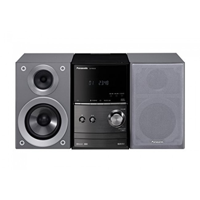 Microsistem,SC-PM602EG-S, 40W, FM, CD, USB, Bluetooth, negru,  Panasonic