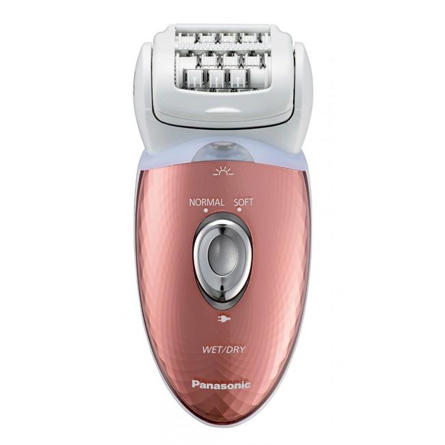Epilator Wet/Dry, 48 pensete, cap pivotant, 2 viteze, lavabil, ES-ED93-P503 Panasonic
