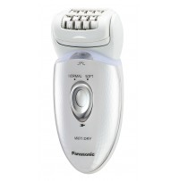 Epilator Wet/Dry, cap pivotant, 48 pensete, 4 accesorii, 2 viteze, lavabil, ES-ED53-W503, alb Panasonic