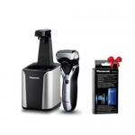 Aparat de ras Panasonic ES-RT87-S503  + Detergent special WES4L03 pentru sistem de curatare Panasonic CADOU