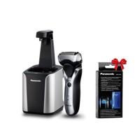 Aparat de ras Panasonic ES RT87 S503  + Detergent special WES4L03 pentru sistem de curatare Panasonic CADOU