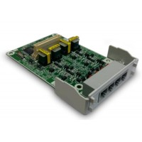 Cartela Panasonic KX HT82480X , extensie 4 linii CO cu CallerID