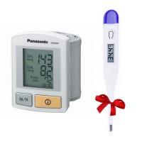 Tensiometru automat pentru incheietura, EW3006W800 Panasonic---Termometru digital CADOU