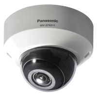 Camera super dinamica HD Dome IP Panasonic WV SFN311L, de retea
