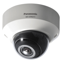 Camera super dinamica HD Dome IP Panasonic WV-SFN311L, de retea