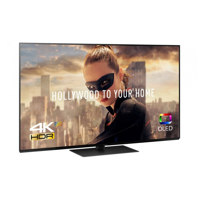 Televizor OLED Smart Ultra HD 4K Pro, 139 cm, PANASONIC TX-55FZ800,TESTARE in Showroom negru