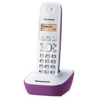 Telefon DECT Panasonic KX TG1611FXF, alb/violet