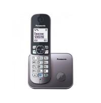 Telefon DECT metalic, KX-TG6811FXM, Panasonic