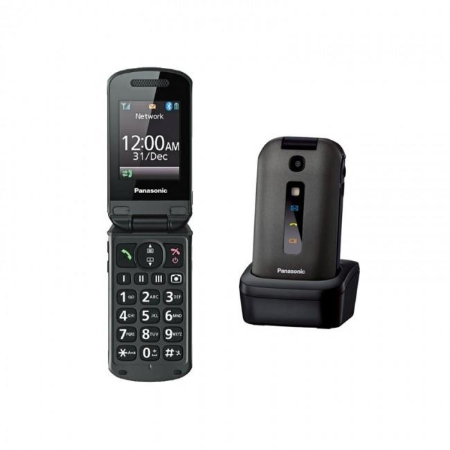 Panasonic - KX-TU329FXM - Telefon GSM ideal pentru persoane varstnice