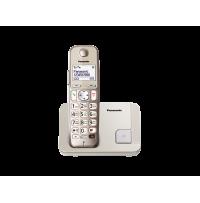 Telefon DECT, argintiu, KX-TGE210FXN, ideal pentru SENIORI