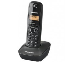 Telefon DECT gri inchis, KX-TG1611FXH, Panasonic, TESTARE in showroom