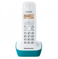 Telefon DECT alb/albastru, KX-TG1611FXC, Panasonic, TESTARE in showroom