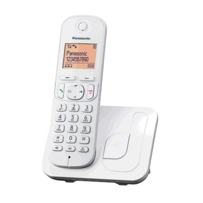 Telefon DECT, alb, KX-TGC210FXW, Panasonic