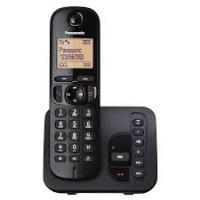 Telefon DECT Panasonic KX TGC220FXB, negru