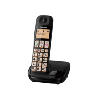 Telefon DECT, model KX-TGE110FXB, Panasonic, TESTARE in showroom