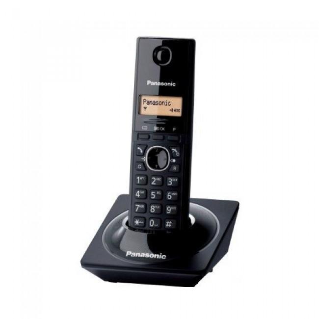 Telefon DECT negru, KX-TG1711FXB, Panasonic, TESTARE in showroom