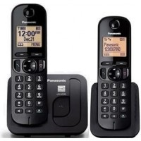 Telefon DECT Panasonic KX TGC212FXB, twin, negru