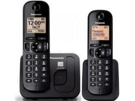 Telefon DECT, negru, twin, KX-TGC212FXB, Panasonic