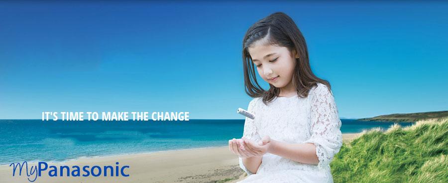 Este timpul sa faci o schimbare si sa alegi bateriile Panasonic