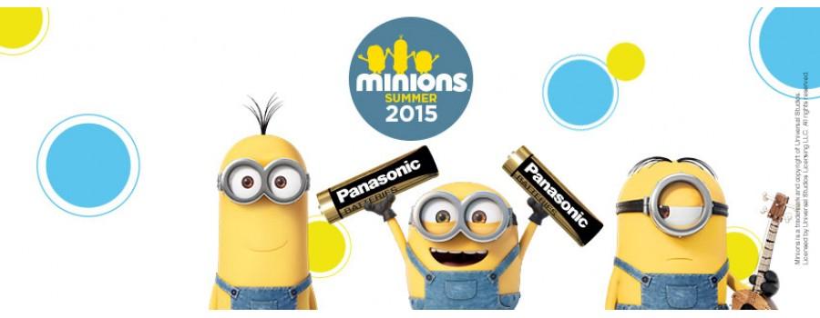Minionii fac echipa cu Panasonic