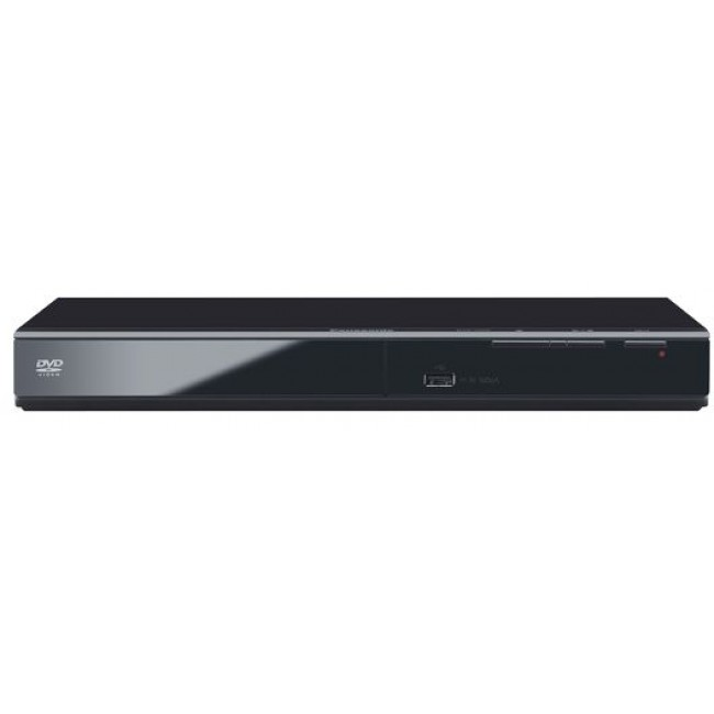 DVD Player USB 2.0 High Speed; Analogue Audio Out 2ch; HDMI-CEC; HDMI-Out DVD-S700EP-K, Panasonic